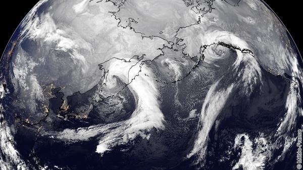 Duo de perturbations sur le Pacifique
