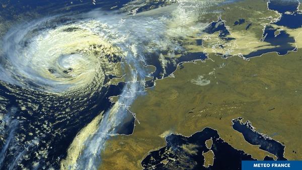 Tempête record en Irlande