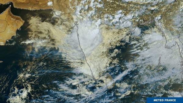 La mousson frappe l'Inde