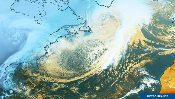 tempête et blizzard à Saint-Pierre-et-Miquelon