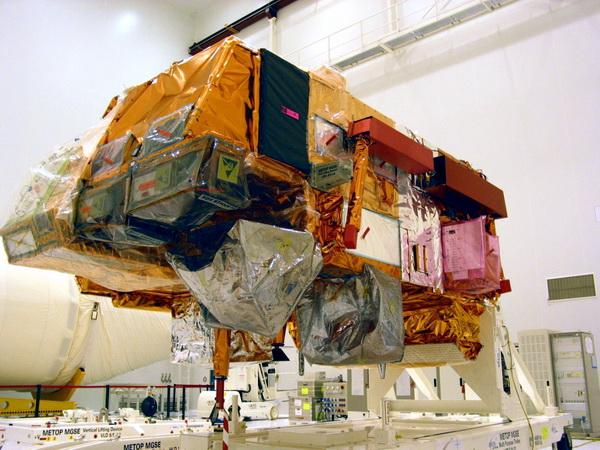 MetOp-B bientôt transporté vers Baïkonour