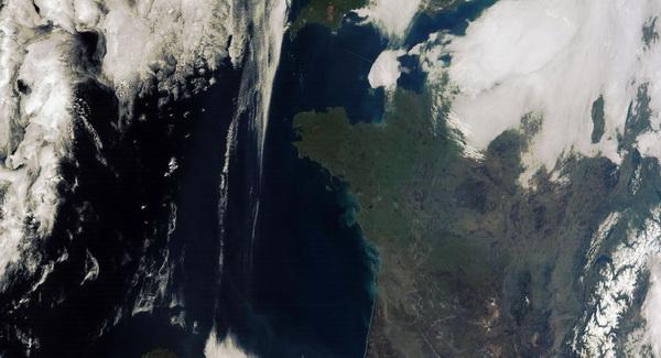 Satellite NPP : première image acquise au Centre de Météorologie Spatiale