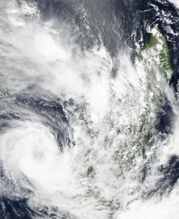 Tempête tropicale Haruna