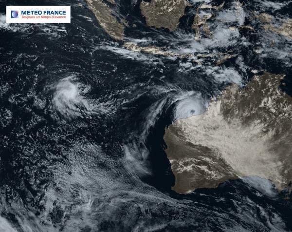 Rusty, cyclone de catégorie 3
