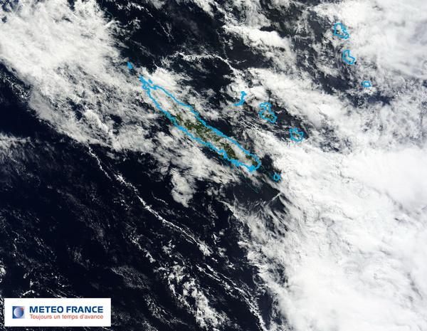 La Nouvelle-Calédonie sous les orages et les fortes pluies