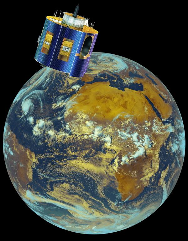 Le service de balayage rapide assuré par Meteosat-9 depuis aujourd'hui