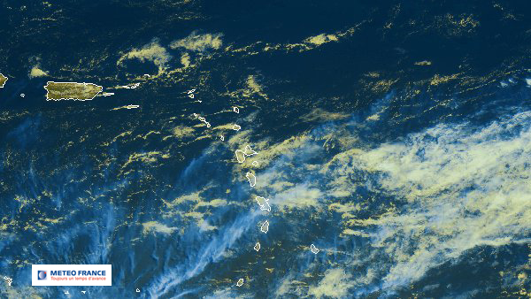 Temps perturbé sur les Antilles