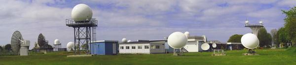 Vue panoramique du Centre de Météorologie Spatiale