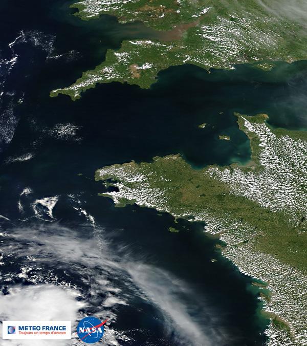 Brises de mer sur les côtes de l'Atlantique et de la Manche