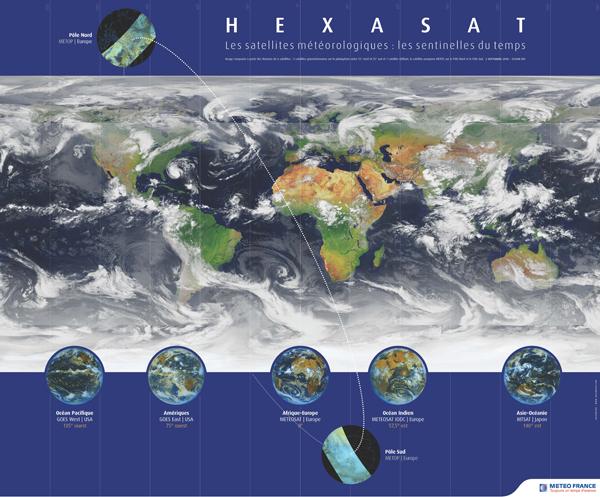2013 par satellite en time-lapse