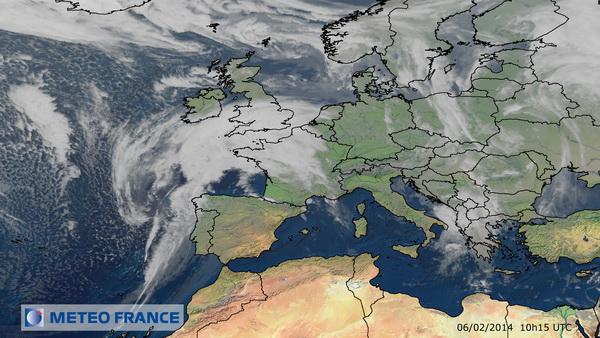 Début d'année perturbé : le time-lapse de l'Europe vue par le satellite Meteosat