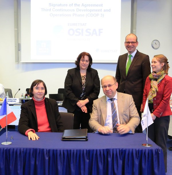 Accord de coopération Eumetsat/Météo-France : bienvenue dans la CDOP3