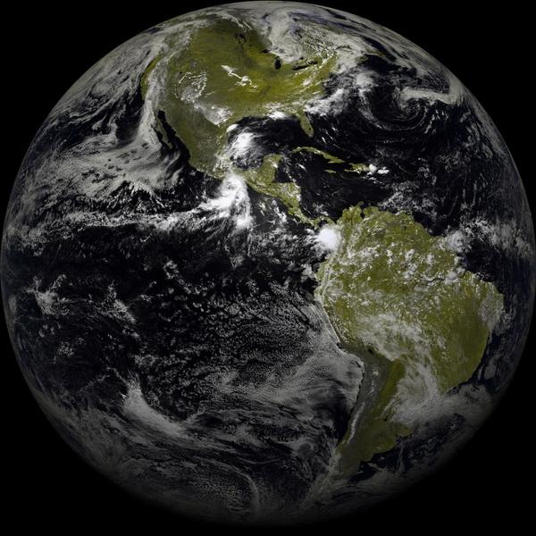 GOES-16 observera les Amériques