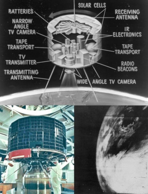 Près de 60 ans de météorologie spatiale !