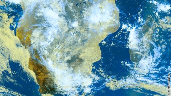 Temps perturbé sur le sud de l'Afrique