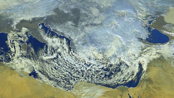 Intempéries hivernales au sud-est de l'Europe