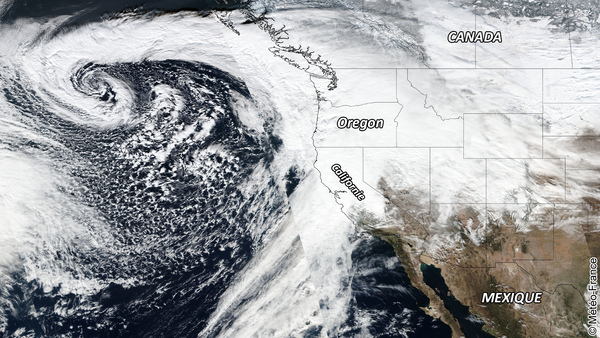 Succession de tempêtes aux USA
