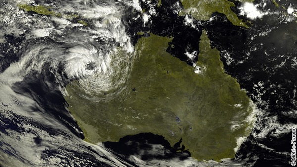 L'Australie touchée par une tempête tropicale