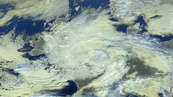 Goutte froide centrée sur le Nord-Pas-De-Calais