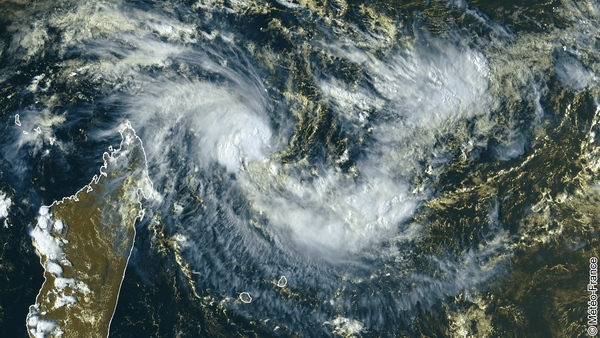 Zoom sur la tempête tropicale Enawo