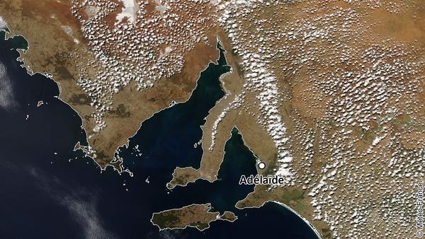 Brises de mer sur la péninsule de Yorke (Australie-Méridionale)