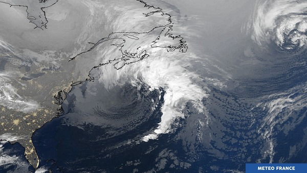 Temps perturbé à Saint-Pierre et Miquelon