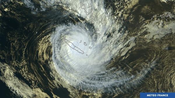 Le cyclone Cook sur la Nouvelle-Calédonie