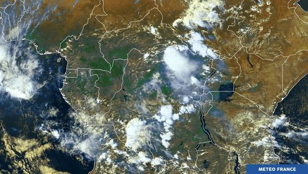 Développements orageux sur l'Afrique