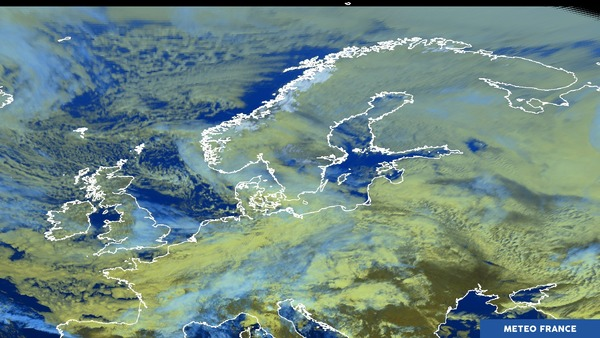 Invasion froide sur l'Europe du nord