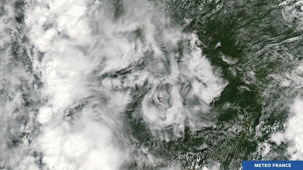 Bouillonements nuageux en Amazonie