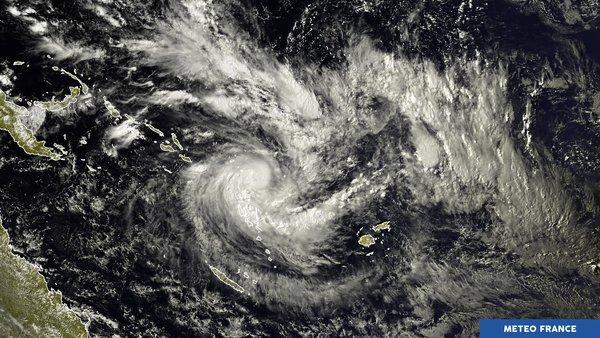 Alerte cyclonique sur l'archipel des Vanuatu