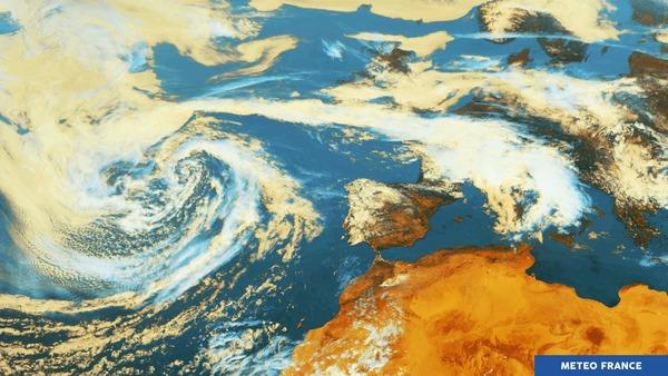 Dépression sur l'Atlantique