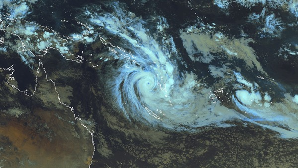 Le cyclone Donna