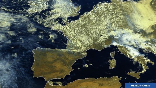Ciel variable en France, dégagé en Espagne
