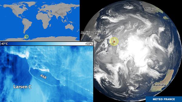 Larsen C : du nouveau du côté de la plateforme glacière antarctique