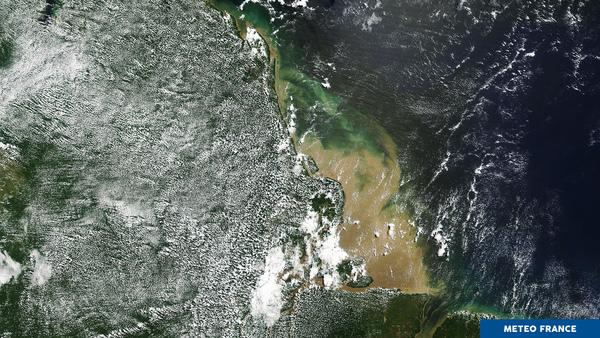 L'estuaire de l'Amazone