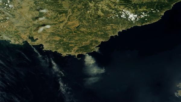 Toujours des incendies en Provence