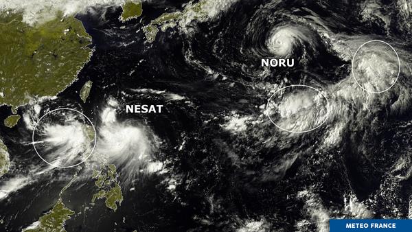 Nesat et Noru bien entourés !