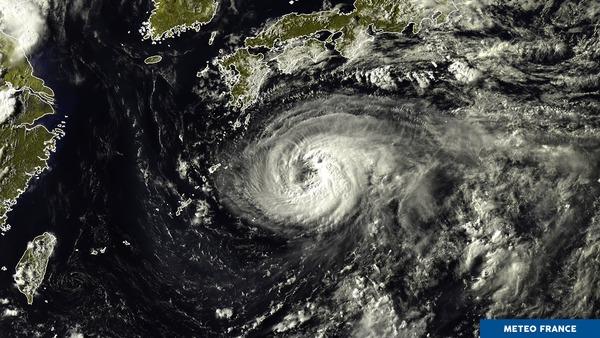 Le Japon ressent les premiers effets de Noru