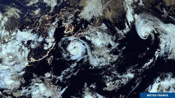 Ballet de phénomènes tropicaux sur le Pacifique