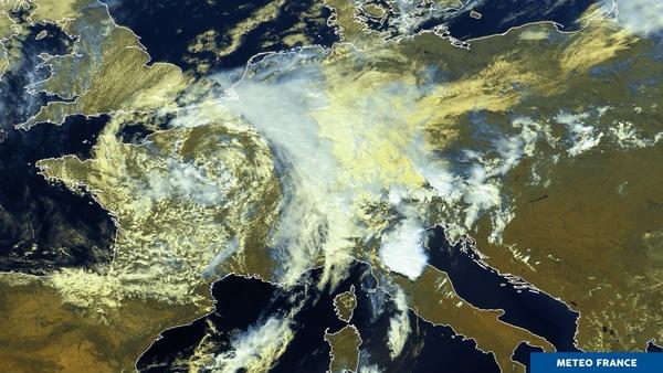 Temps perturbé sur l'Europe occidentale