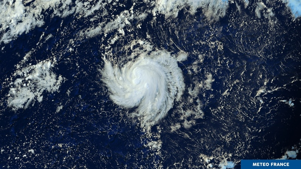 Perturbation perdue dans l'immensité de l'océan Pacifique