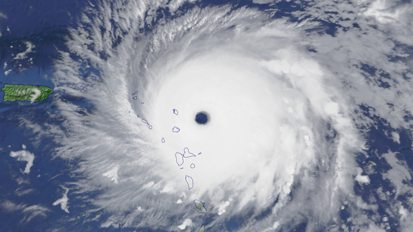 Irma, un ouragan de catégorie 5