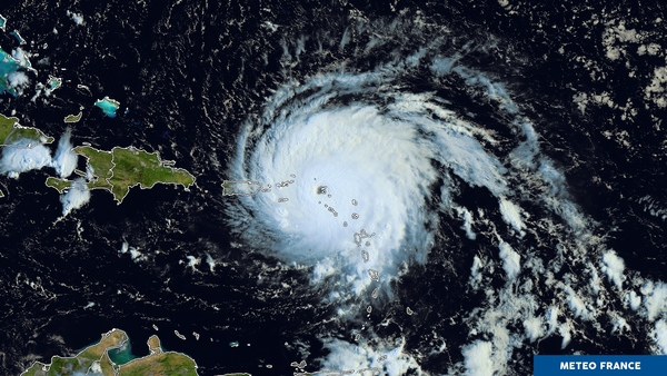 Les îles du nord de l'arc antillais sévèrement frappées par Irma
