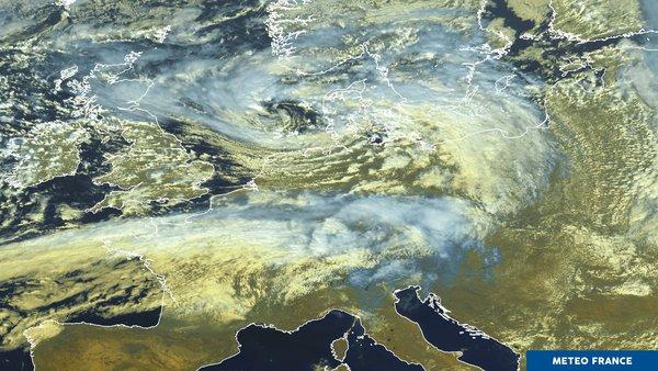 La tempête Aileen traverse le nord de l'Europe