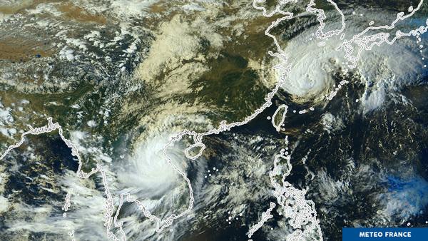 Le Pacifique est agité