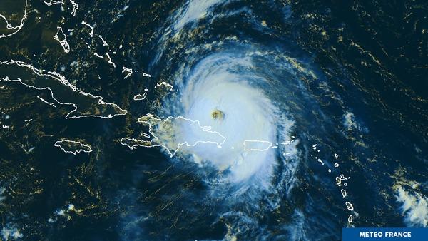 Maria touche la République Dominicaine