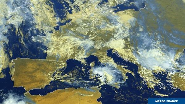 Du soleil aux orages en Europe...