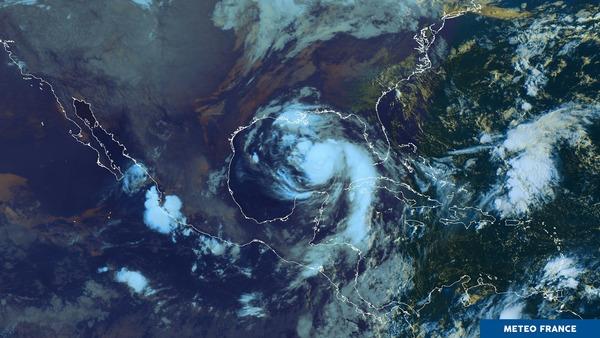 Ouragan NATE.