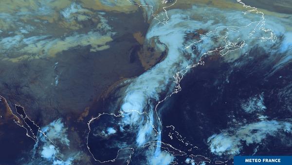 Le cyclone Nate s'affaiblit...